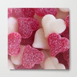Gummy Hearts 2 Metal Print