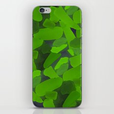 Radioactive glass glow iPhone & iPod Skin