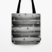 buddha Tote Bags featuring Buddha by Fine Art by Rina