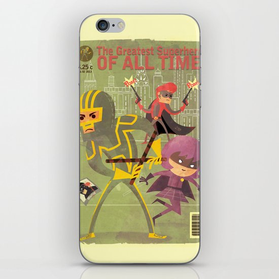 kick ass fan art 2 iPhone & iPod Skin