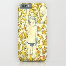 Crowded Pool In the Summer iPhone 6s Slim Case
