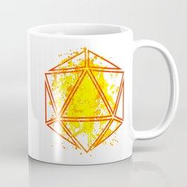 d20 Coffee Mug of Initiative Coffee Mug