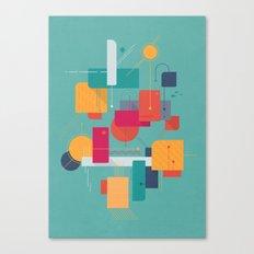 Thinking Of Summer Canvas Print