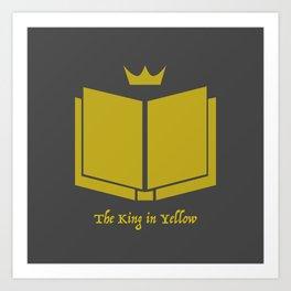 The King in Yellow Art Print