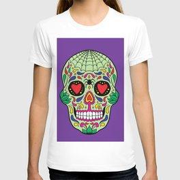 Colorful Skull VI T-shirt
