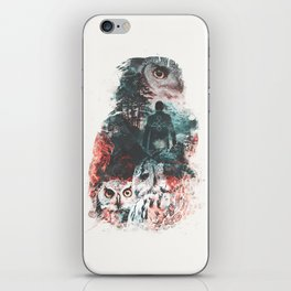 Not What They Seem Inspired by Twin Peaks iPhone Skin