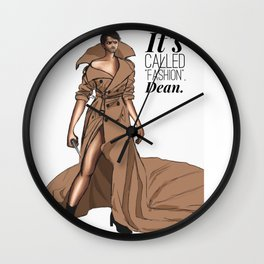 """It's called """"FASHION"""" Wall Clock"""