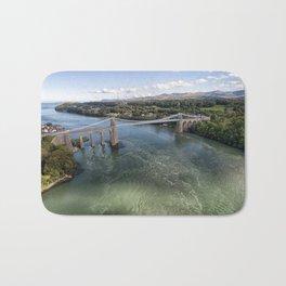 Menai bridge 2 Bath Mat