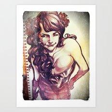 Anu 2012 Art Print