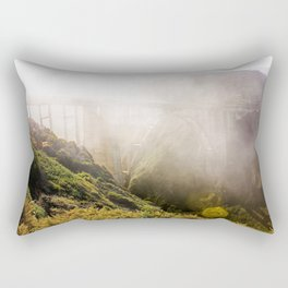 Foggy Day in the Bay Rectangular Pillow