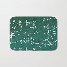 Math Equations Bath Mat