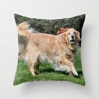 happiness Throw Pillows featuring Happiness by IowaShots