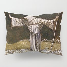 """""""Brother Martin"""" Watercolor by John Bauer Pillow Sham"""