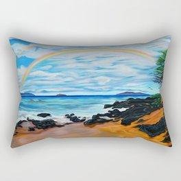 A Happy Place Rectangular Pillow