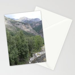 Into the river Stationery Cards
