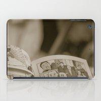 manga iPad Cases featuring manga by gorkarcophoto
