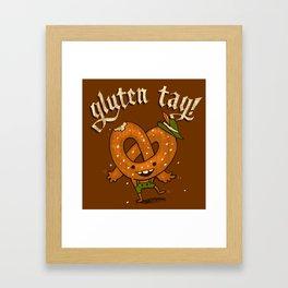 Gluten Tag Framed Art Print