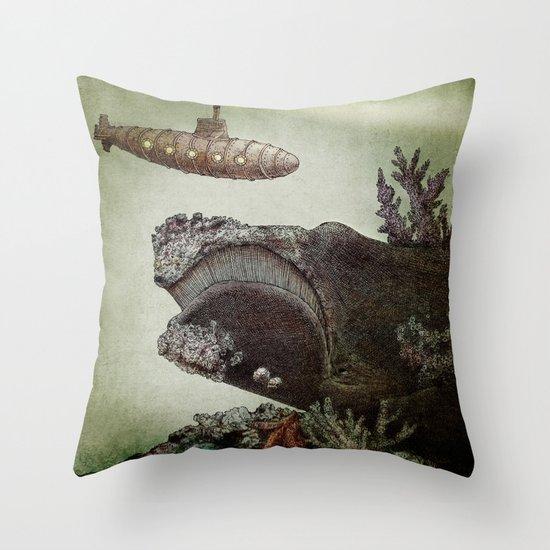 Leviathan (colour option) Throw Pillow