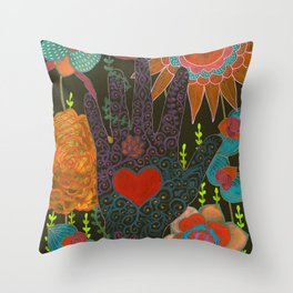 To Have Your Heart In My Hand Throw Pillow