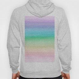 Pastel Unicorn Rainbow Watercolor Dream #1 #painting #decor #art #society6 Hoody