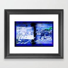 Night Light, Gotland Framed Art Print