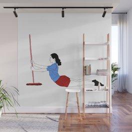 Practical woman 2 Wall Mural