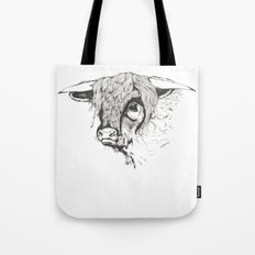 Hairy Cow Tote Bag