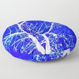 COBALT CENTRAL Floor Pillow