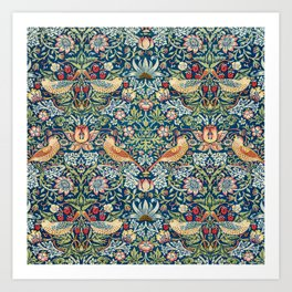 William Morris  Strawberry Thief Art Print