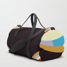 Colorful Retro Shapes Duffle Bag