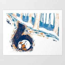 Hybernation  Art Print