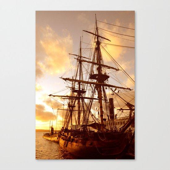 PIRATE SHIP :) Canvas Print