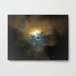 Solar Eclipse 2 Metal Print