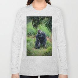 Standing Gorilla Long Sleeve T-shirt