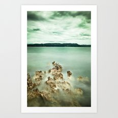 Timeless sea Art Print