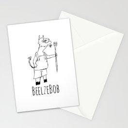 Beelzebob Stationery Cards