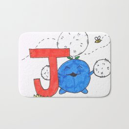 J is for Jumpluff Bath Mat