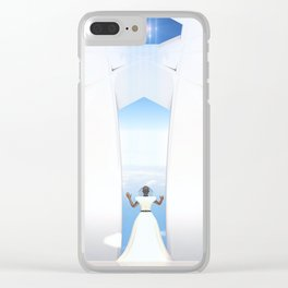 The Eastern Sky Clear iPhone Case