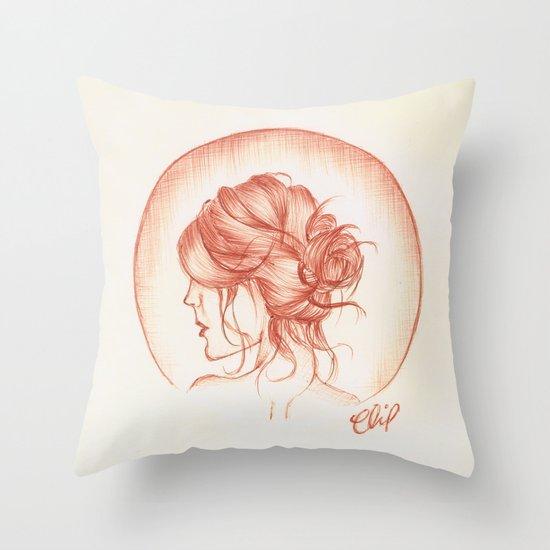 Auburn Throw Pillow