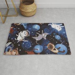 Cat Space Rug