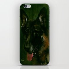 SHEPHERD in SHADOW iPhone & iPod Skin