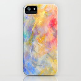 gold sky paradise iPhone Case