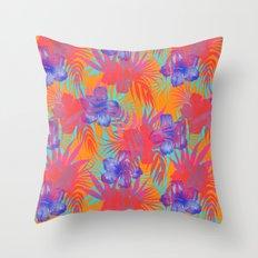 Honolua Citron Throw Pillow