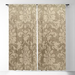 Beige Royal Blackout Curtain