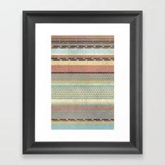 Patternwork IX Framed Art Print