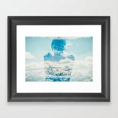 {Insideout 10} Top of the world Framed Art Print