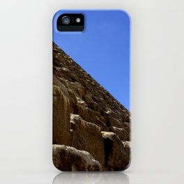 Side of a Pyramid at Giza iPhone Case