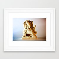 ohm Framed Art Prints featuring Ohm by Will D'angelo