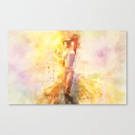The Girl with the Sun in Her Hair - Eastern Promise Canvas Print