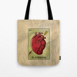 El Corazon Tote Bag